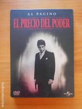 DVD EL PRECIO DEL PODER - AL PACINO - PLATINUM EDITION - 2 DISCOS CAJA METALICA