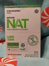 Keto OS NAT LIME TIME by Pruvit 20 Packets
