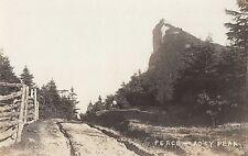 Rosy Peak PERCÉ Gaspésie Quebec Canada 1920-40 RPPC Cecil Balleine CAP COVE