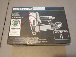 "Metabo-HPT N5008AC2M 7/16"" Crown Construction Sheathing Stapler 16 gauge"