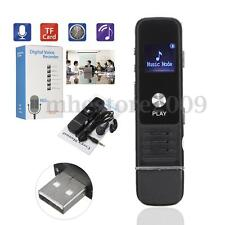 Pro USB Rechargeable Digital Audio/Sound/Voice Recorder Dictaphone MP3 Player