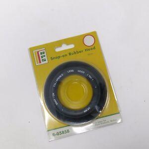 Vtg NOS RPS 58mm  Snap-On Rubber Collapsible Lens Hood Japan