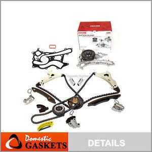 Timing Chain Kit Water Pump Fit 11-15 Mercedes-Benz C350 ML350 C300 E300 3.5L