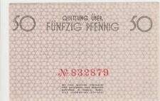 50 Pfennig Billet 1940 Allemagne/ Pologne/ Lodz. Litzmannstadt Quasiment Neuf