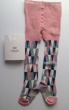 No Added Sugar Harlequin Baby Tights BNWT Size 18-24 Months Cotton Rich