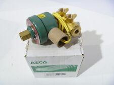 "1/4"" ASCO HT8345E011 24/DC Solenoid Valve NEW IN BOX"