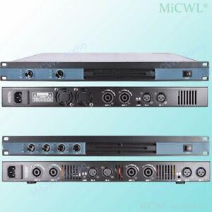 Digital Power Amplifier 5200W 4 Channel Stage Audio Speaker AMP 2CH 2600 watt