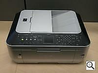 Canon PIXMA MX860 All-In-One Inkjet Color Printer Copier FAX working!