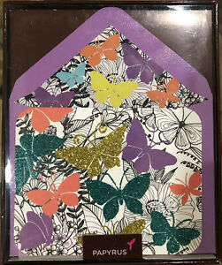 Papyrus Butterfly Boxed Cards. Discontinued! (12 Count)