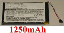 Batterie GARMIN Dezl 560LMT, Dezl 560LT, Dezl 650LM, 361-00051-02 1250mAh