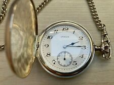 Swiss URANUS Pocket Watch Silver