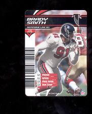 2003 NFL Showdown BRADY SMITH Atlanta Falcons Rare Card