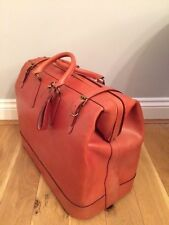 New, leather (bridle-hide) holdall, handmade in the UK by Swaine Adeney.