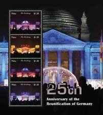 Palau 2016 - Reunification Of Germany - 25th Anniversary - Sheet of 4 - Mnh