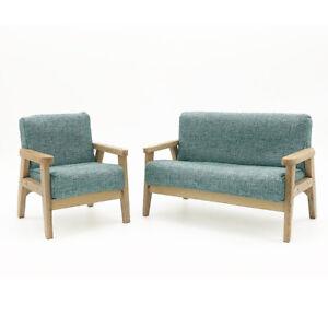 1/6 Doll House Sofa for BJD Miniature Living Room Model 6x6x7.5cm Gray
