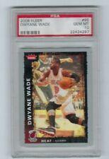 2008 Fleer #95 - Dwyane Wade - Miami Heat HOF MVP  -GEM MINT PSA 10-