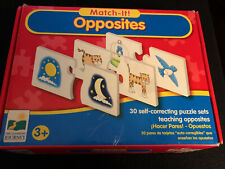 Match It Learning Opposites Self Correcting Puzzle Set The Learning Journey