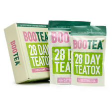 Bootea 28 Day Teatox New Genuine Original Daytime Tea Bedtime Tea Weight Loss