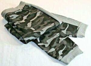 Ideology Mens Black Camouflage Jogging Track Pants Size Medium    B80-3437