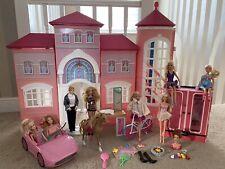 Barbie Casa De Ensueño Malibu Barbie residencia 2014 Muy Raro plus extras