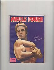 MUSCLE POWER bodybuilding fitness magazine/DON COLLELLO 8-46