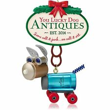Hallmark Ornament 2014 You Lucky Dog Antiques