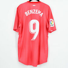 2018-19 Real Madrid Third Shirt Authentic #9 BENZEMA *BNWT* L Climachill Jersey