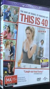 This Is 40 - DVD - Region 4 - PAL - Excellent Condition - Free Post