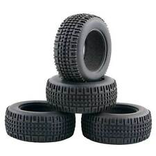 Racing Pull Rally Tires Tyres For 1:10 On Road Car 1:16 Off-Road Buggy 7004A 4pc