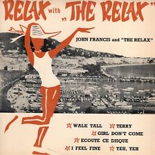 7inch JOHN FRANCIS	relax with the relax	HOLLAND EX (S1030)