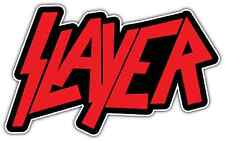 "Slayer Band Metal Music Red Car Bumper Window Sticker Decal 6""X3"""