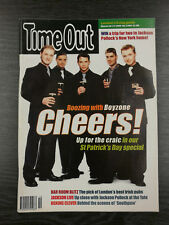 TIME OUT Magazine: March 10th-17th 1999, Boyzone