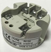 Instrumentos de estado 2 Cable de transmisor de temperatura SEM104/P, PT100 en 4-20mA fuera