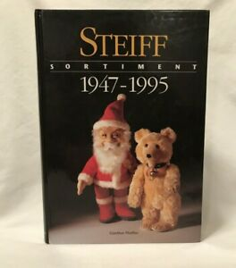 Steiff Sortiment 1947-1995 Book in German