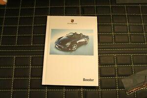 RAR VIP Hardcover Prospekt/brochure Porsche Boxster S 987 03/05 Belgisch