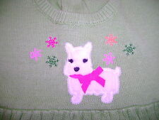 NWT Gymboree Cheery all the way scottie dog swing dressy sweater holiday 4t