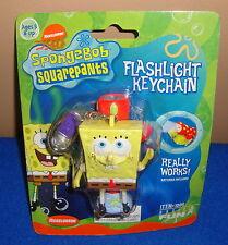 Spongebob Squarepants Flashlight Keychain by Basic Fun MOC