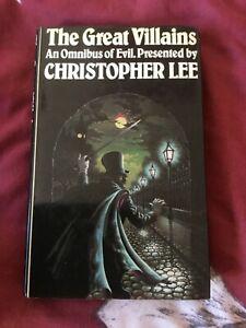 Christopher Lee great villains book