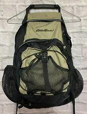 Eddie Bauer Hiking Backpack Internal Frame Water-resistant Black & Tan