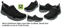 Crocs Swiftwater Edge Moc slip-on Casuals For Men in Black NEW