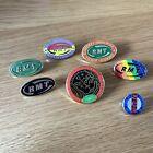 Various RMT Badges Trade Union LGBT Guard Strike R.M.T Liverpool NUR Railway
