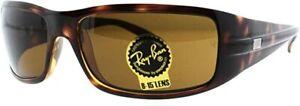 RAY-BAN SUNGLASSES RB4057 642 Havana Frame W/ Dark Brown Lens BRAND NEW IN BOX