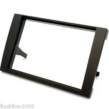CT24AU16 AUDI A4 B6/B7 MODEL 2001 to 2008 BLACK DOUBLE DIN FASCIA ADAPTER PANEL