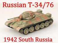 Easy Model 1/72 T-34/76 Model 1942 South Russia Tank Plastic Model #36266