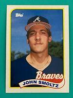 Topps 1989 #382 RC John Smoltz - Atlanta Braves