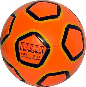Size 3 Lionstrike Football - Lite Training football for 3-7 yr olds - Orange