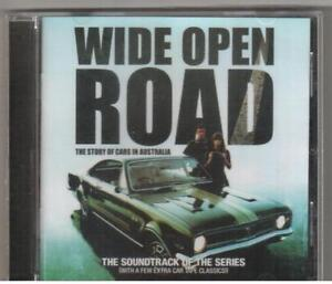 CD WIDE OPEN ROAD OST New Chisel Saints Angels Stevie Wright Various Artists