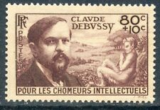STAMP / TIMBRE FRANCE NEUF N° 462 **  MUSICIEN / CLAUDE DEBUSSY