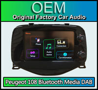Peugeot 108 car stereo, Bluetooth DAB Radio Media Touch Screen, 86140-0H020