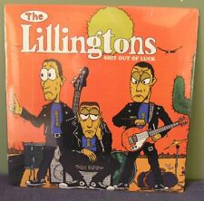 "The Lillingtons ""Shit Out of Luck"" LP /300 Nofx Teenage Bottlerocket Blink 182"